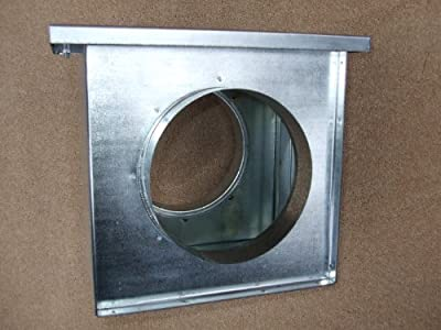 125mm diameter in-line filter box, hydroponics grow room ventilation, galvanised steel ducting by Ventilation Centre