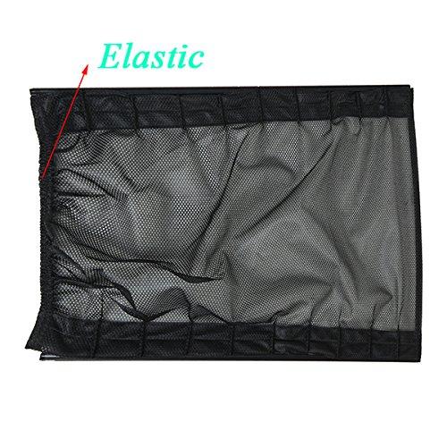 Interior Accessories 2X 50 39cm Simple Car Mesh Cotton Curtains Window Sunshade Sun Protection Car Cradles