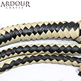 Ardour Crafts Genuine Real Leather 08 Feet Long