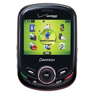 Pantech Txt8045 Jest 2 - Slider Cell Phone (Verizon Wireless) (Renewed)