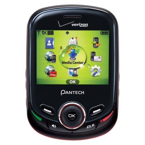 Pantech Txt8045 Jest 2 - Slider Cell Phone (Verizon Wireless) (Certified Refurbished) by Pantech