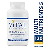 Vital Nutrients – Multi-Nutrients 5 – Ultra Antioxidant Formula (Boron, Copper, Iron Free) – Ultra Antioxidant Multi-Vitamin/Mineral Formula – 120 Vegetarian Capsules For Sale