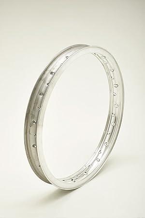 Aluminiumfelge Mit Rand Und Profil H Für Motorräder Bis 70er Jahre Wheel Rim Wm2 1 85 X 21 36 Loch Auto