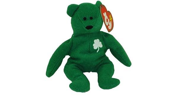 Amazon.com  TY McDonald s Teenie Beanie - ERIN the Bear (1999) (5 inch)   Toys   Games 54e0bd669820