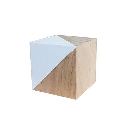 Amazoncom Heart Speaker Mini Solid Wood Square Cube Children