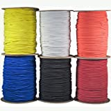 "Paracord Planet 1/8"" Shock Cord in Various Colors –..."