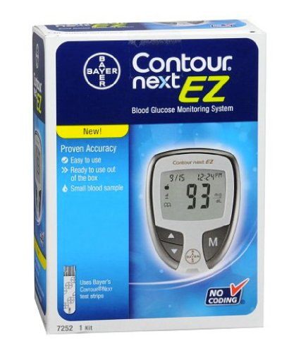 Bayer Next EZ High Blood Sugar Glucose Monitoring System Diabetic
