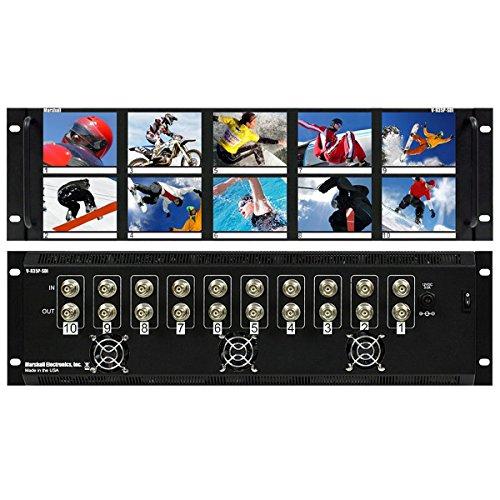 - Marshall Electronics V-R35P-SDI | Ten 3.5inch LCD Rack Mountable Panel