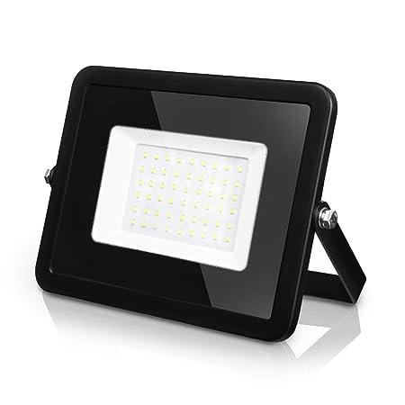 LVWIT Foco Proyector LED - 50W equivalente a 150W, 4000 lúmenes ...