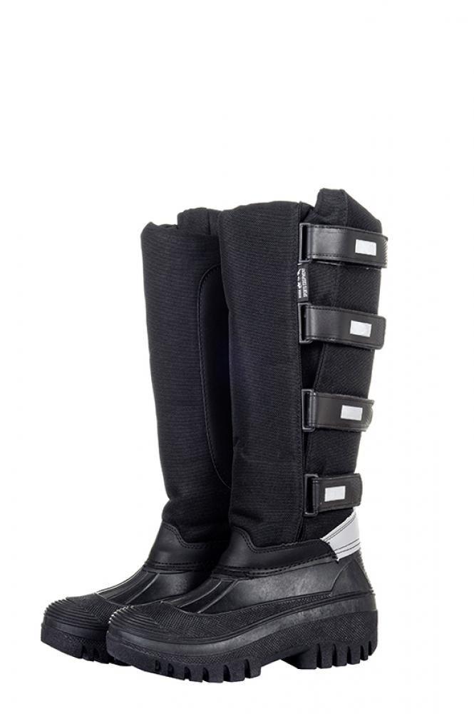 Botas de equitación Thermo Mucker de HKM, unisex, negro33/ size 1|negro