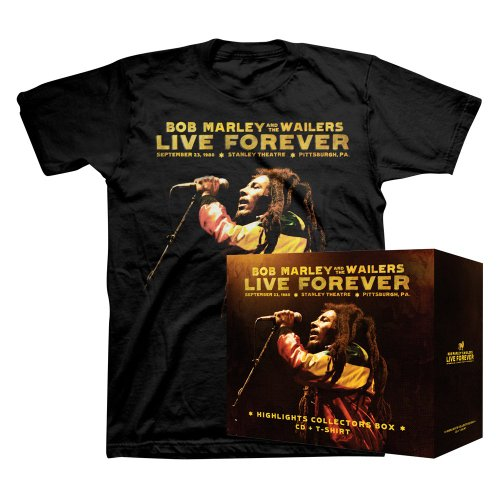Live Forever: Stanley Theatre Pittsburgh (Rock Rare T-shirt)