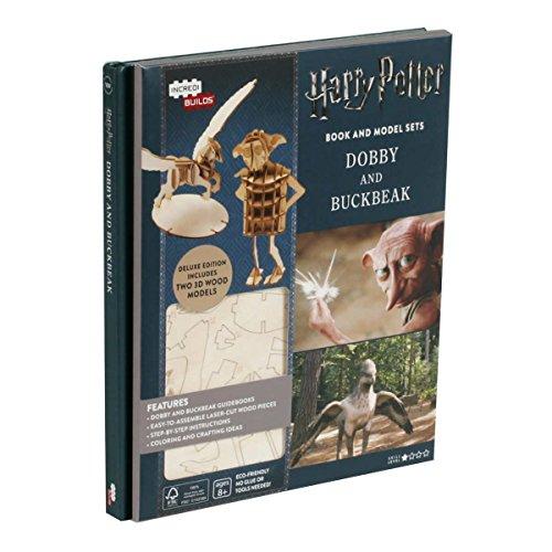 Harry Potter Book and Model Set Dobby and Buckbeak