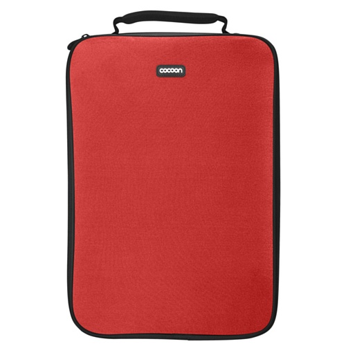 Cocoon CLS406RD Laptop Case, up to 16 inch, 15.4 x 1.1 x 11.2 inch, Red