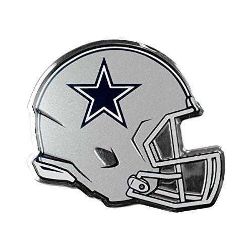 NFL Dallas Cowboys Helmet Emblem, Blue, Standard