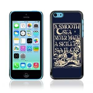 CaseCaptain Carcasa Funda Case - Apple iPhone 5C / Cool Skilled Sailor Illustration /