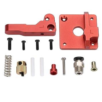 ASHATA 1.75mm Filamento MK8 Bowden Extrusora, Aluminium Frame ...