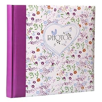 Field of Flowers Fotoalbum in 30x30 cm 100 Seiten Jumboalbum Buch ...