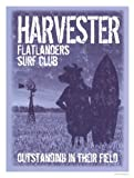 Flat Landers Club Poster by sam maxwell (13.00 x 17.00) offers