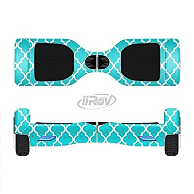 Design Skinz The Morocan Teal Pattern Full-Body Wrap Skin Kit for The iiRov HoverBoards and Other Scooter (Hoverboard NOT Included) : Sports & Outdoors