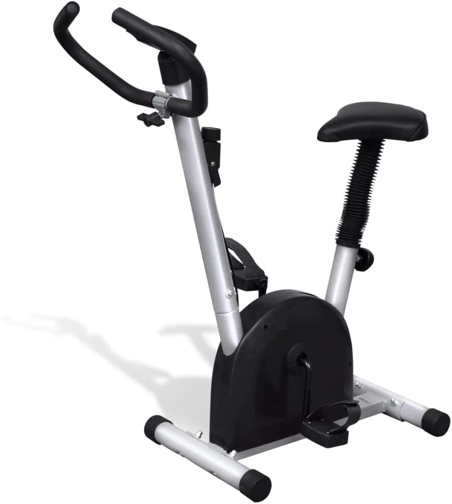 mewmewcat Bicicleta estática con sillín 92,5 x 49 x 106 cm: Amazon ...