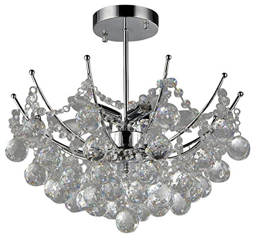Whse of Tiffany RL1054 Shine Crystal Chandelier For Sale