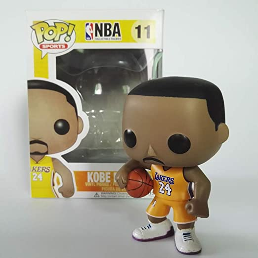 CXSYtoy ¡Popular!NBA Kobe Bryant 24Rd Jersey Amarillo de ...