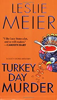 Turkey Day Murder (Lucy Stone Mystery, Book 7) 1575666057 Book Cover