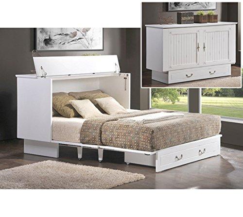 (Arason Enterprises Creden-ZzZ Queen Murphy Bed in Cottage White)