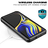 RedPepper Galaxy Note 9 Waterproof Case, Protective Clear Cover with Built-in Screen Protector, Support Wireless Charging IP68 Waterproof Shockproof Case for Samsung Galaxy Note 9
