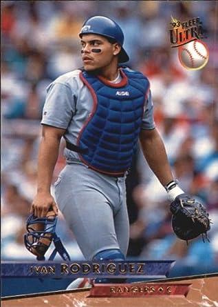 Amazoncom 1993 Ultra Baseball Card 284 Ivan Rodriguez