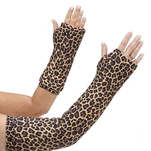 CastCoverz! Designer Arm Cast Cover - Classic Cheetah - Medium Long: 21