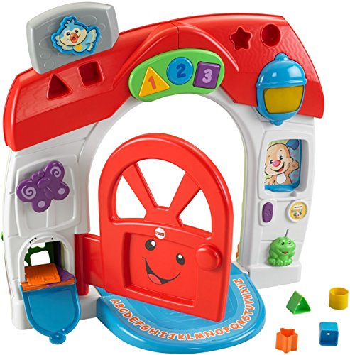 One of the best toys for babies is the Fisher-Price Laugh & Learn Smart Stages Home Playset [Amazon Exclusive]