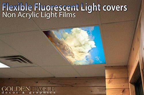 Sunset Clouds - 2ft x 4ft Drop Ceiling Fluorescent