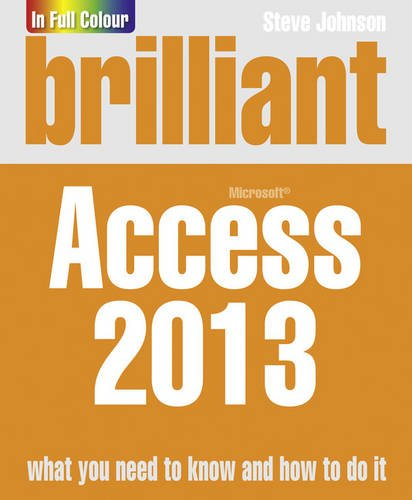 Brilliant Access 2013 (Brilliant Computing) pdf