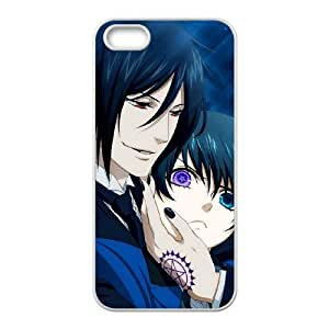 iPhone 5,5S Phone Case Cover Black Butler BB7268