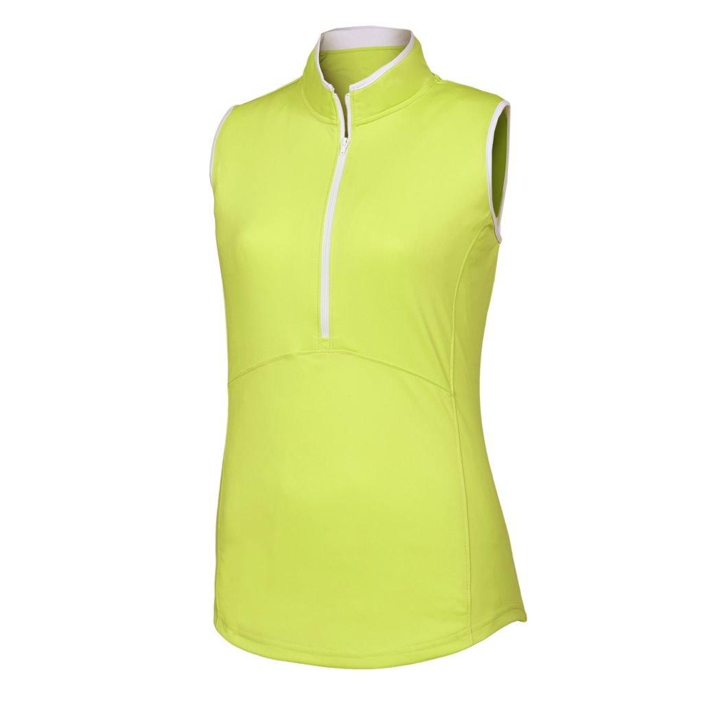 FootJoy Women's Sleeveless Zip Shirt FootJoy Sleeveless zip shirt