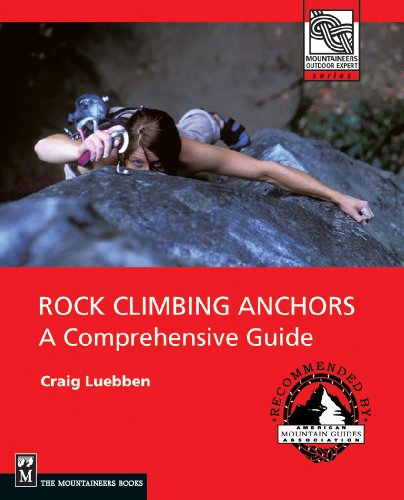 Rock Climbing Anchors Comprehensive Mountaineers product image