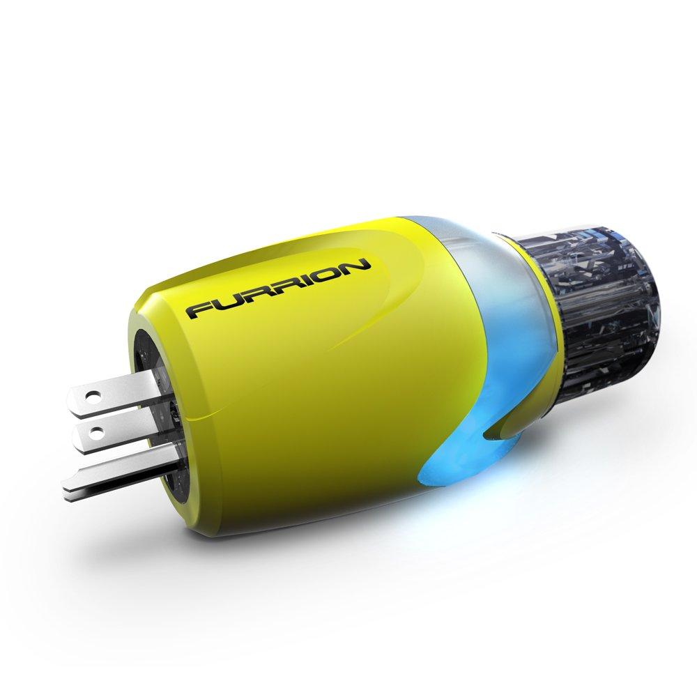 Furrion Titanium 381662 Marine Adapter Plug-15A Male to 30 Amp Female