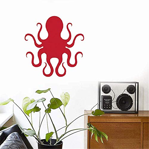 Vinyl Peel and Stick Mural Removable Wall Sticker Decals Octopus for Kids Room