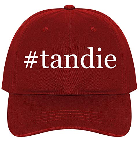 (#Tandie - A Nice Comfortable Adjustable Hashtag Dad Hat Cap, Red)