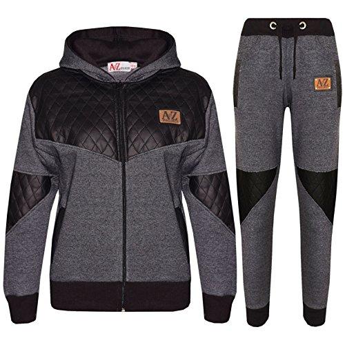 Designer Project (Kids Tracksuit Girls Boys Designer A2Z Project Zipped Top & Bottom Jogging Suit)