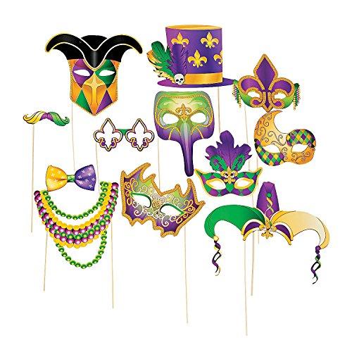 Mardi Gras Handheld Costume Props -