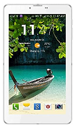 IKALL N2 512 and 4GB Dual Sim 3G Calling Tablet with 3000 mAh Battery Capacity (White) Tablets at amazon