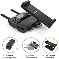 H-shopping Foldable Extended Holder for DJI Mavic Pro + One Strap, Freely Disassembly, Storage Design, Gently Press Gently Stretch, Comaptible with Phantom 3 4 and 4.7- 12.9 Smartphone Tablet
