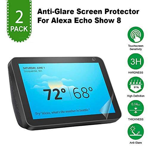 Anti Scratch/Anti Glare/Anti Fingerprint High Transmittance Easy Install [Bubble-Free] Matte Unbreakable PET Screen…