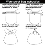 Chern Yueh Waterproof Motorcycle Helmet Bag Dry Bag Sack Storage Shoulder Bag 30L Anti Dust