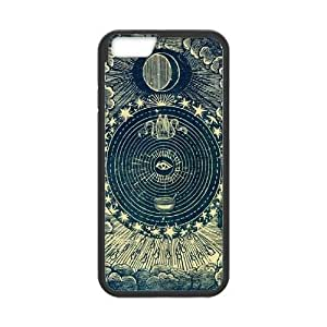 Sun Moon Pattern CUSTOM Case Cover for iPhone6 Plus 5.5