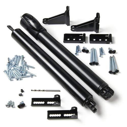 Andersen Storm Door Top and Bottom Closer Kit in Black Color Black Pneumatic Door Closer