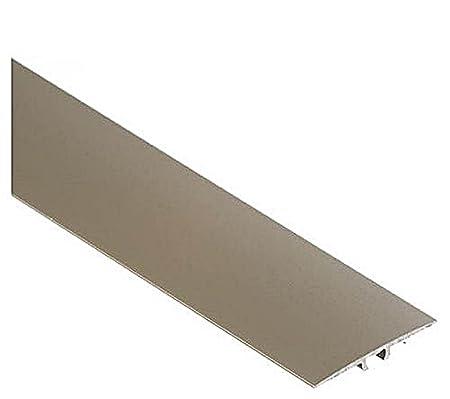 Flat Aluminium Transition Strip Threshold Carpet Door Floor Edging Bar Trim Strip LWPL 35mm x 0.9