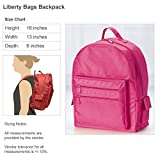 Cute Ballet Dancer Girl Angelique: Liberty Bags Backpack